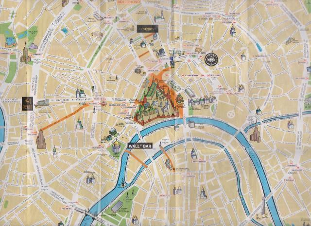 moskova şehir haritası